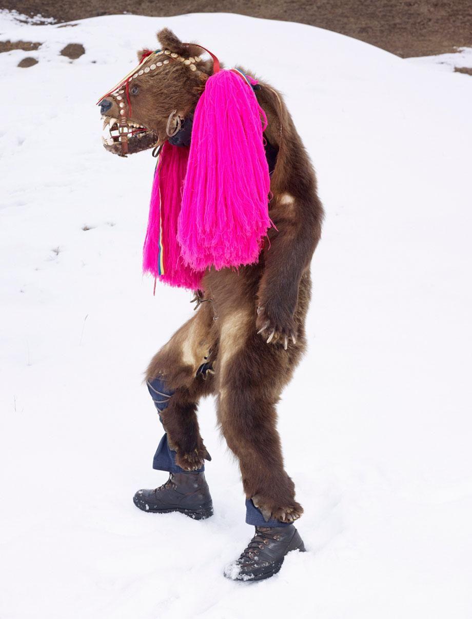 Ursul (Bear), Palanca, Romania, 2010–2011 Charles Fréger, courtesy of Yossi Milo Gallery, New York