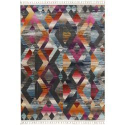 Photo of benuta Kurzflor Teppich Simsala Multicolor/Anthrazit 160×240 cm – Moderner Bunter Teppich für Wohnzi
