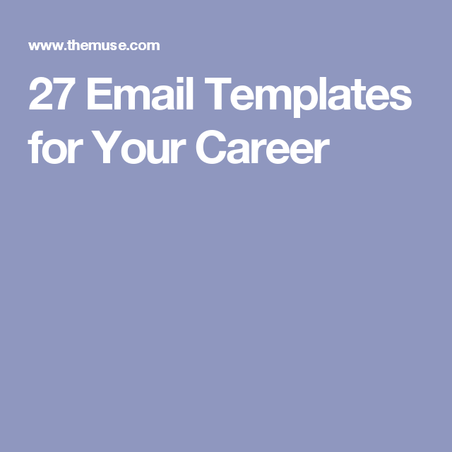 The 28 Key Email Templates You'll Need in 2018 ...