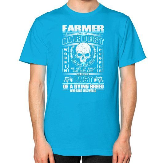 Farmer hardest Unisex T-Shirt (on man)