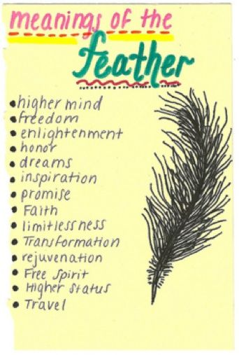 For Those Like Us Who Keep Finding Feathers In Our Path Spiritual