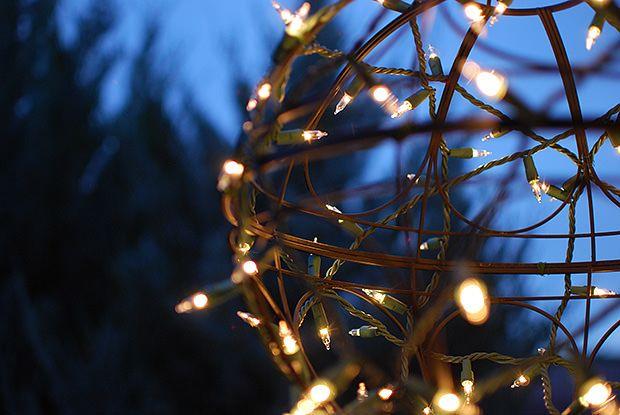 Christmas Light Ideas Diy Light Globe Hack The Garden Glove Cheap Christmas Lights Globe Lights Christmas Lights