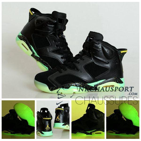 6Classique Air De Lumineuse Nike Basket Jordan Chaussure Homme 5R4j3AL