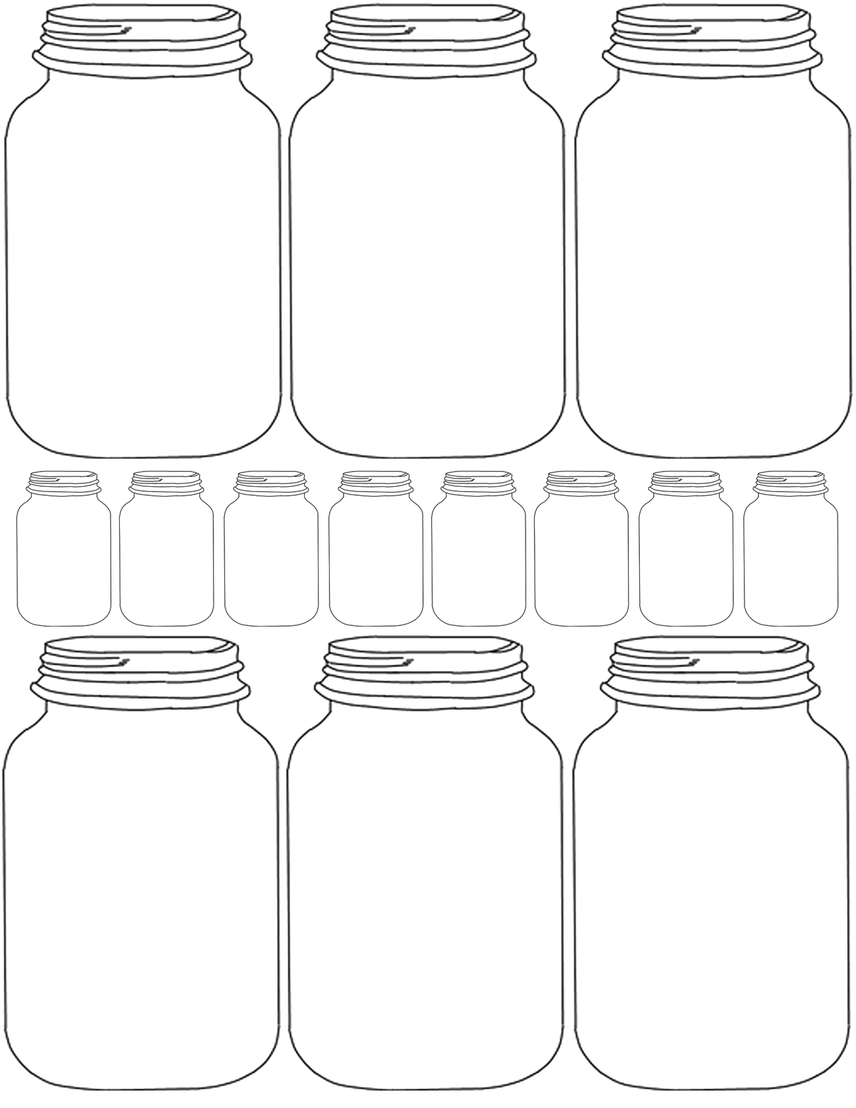 photo regarding Printable Mason Jar Template identified as Rustic Enjoy: Do-it-yourself Printable Mason Jar Printables Printable