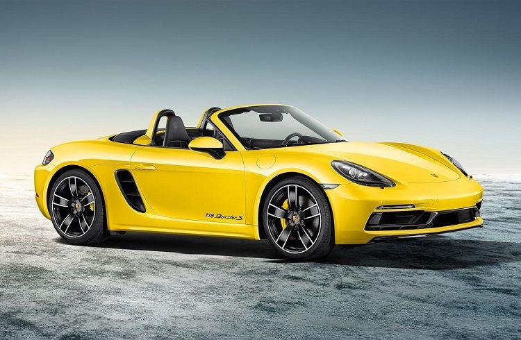 Yenilenmis Porsche 718 Boxster Modeli Ile Ucmaya Hazir Olun Paratic Porsche Otomobil Supersport