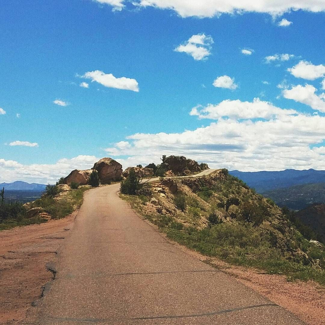 Colorado Springs Colorado: Though Only 2.8 Miles Long, Skyline Drive Is A White