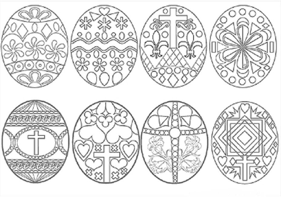 easter coloring pages for adults   Easter egg coloring ...Jesus Easter Egg Coloring Page
