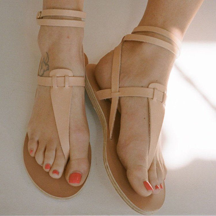 1aaaaa5a8f0 Ancient Greek Sandals Estia Thong Ankle Strap Sandal  sol  Shop Super Street  - 2