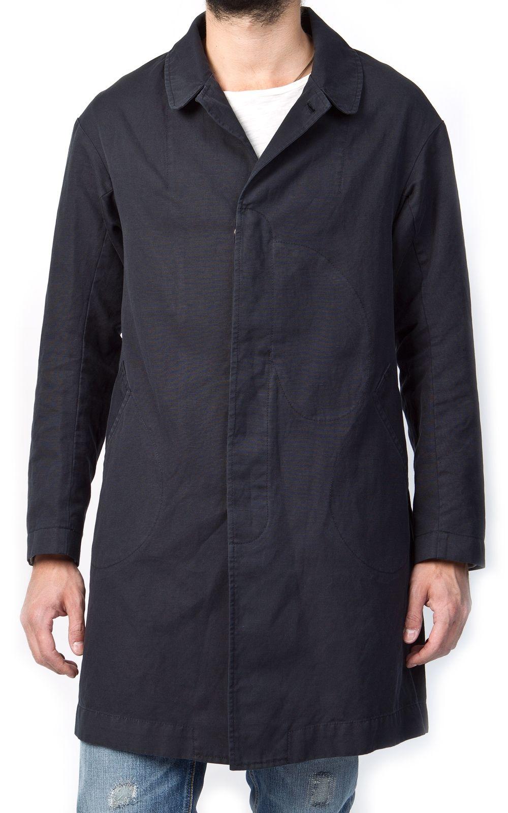 Nudie Jeans Sander Coat Black Washed
