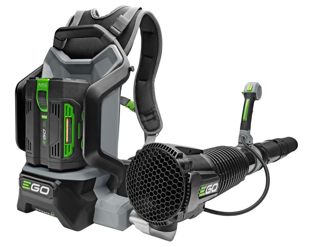145 MPH 600 CFM 56V LiIon Cordless Backpack Blower with 5