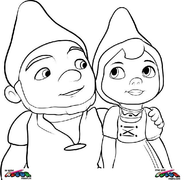 Gnomeo and Juliet Costumes Gnomeo And Juliet Pictures To Color