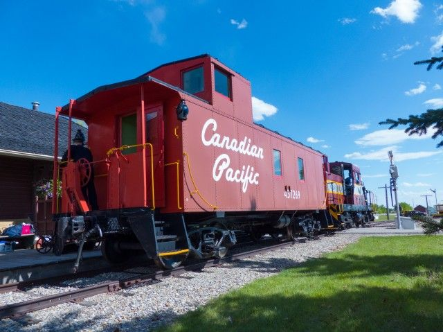 Old CPR caboose