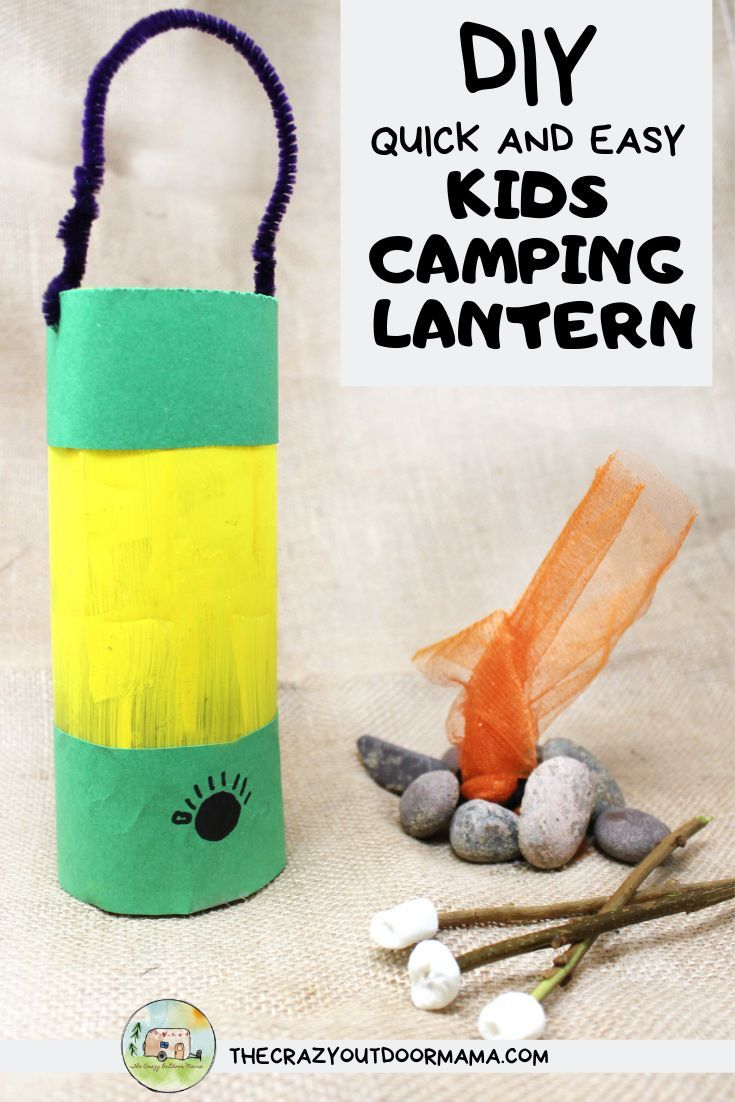 Photo of Cute Camping Craft For Kids: Glowing Camping Lantern (Made from a Water Bottle!) – The Crazy Outdoor Mama