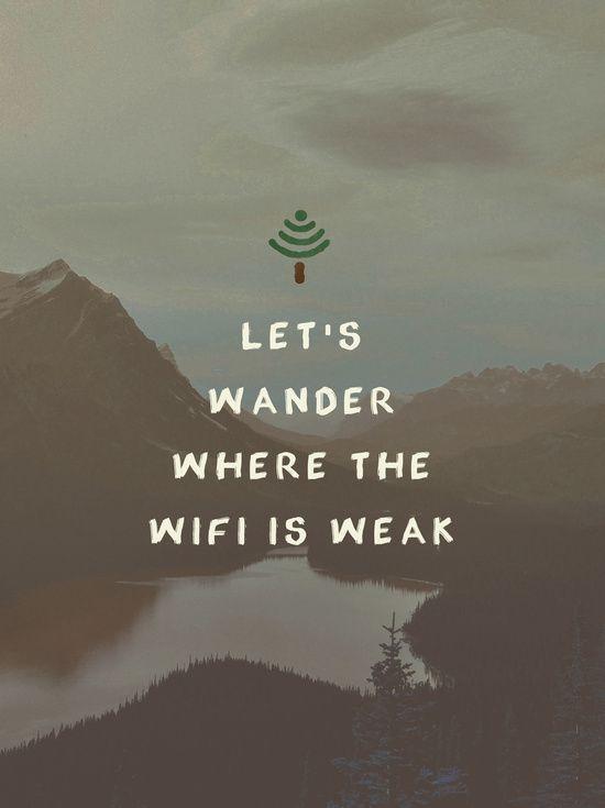 Wifi Wander Art Print