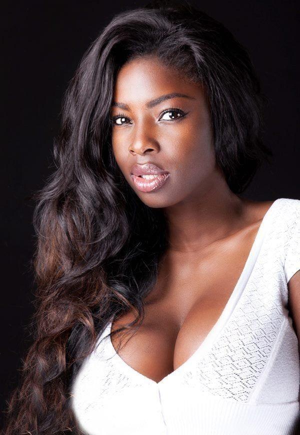 Black women sexy cleavage photos 970