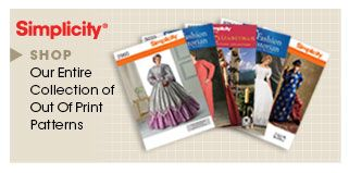 Simplicity.com: Patterns, tools and supplies for all things sewing, knitting, quilting, and crafting.