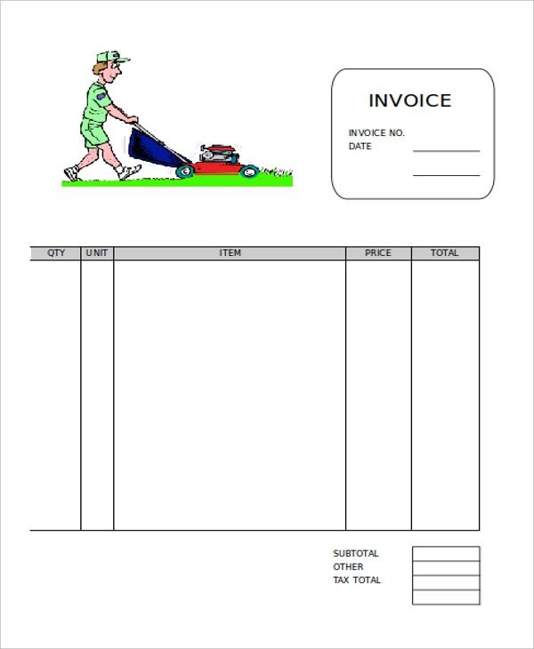 4 Free Word Pdf Format Download Free Premium Templates Invoice Template Invoice Sample Template Design