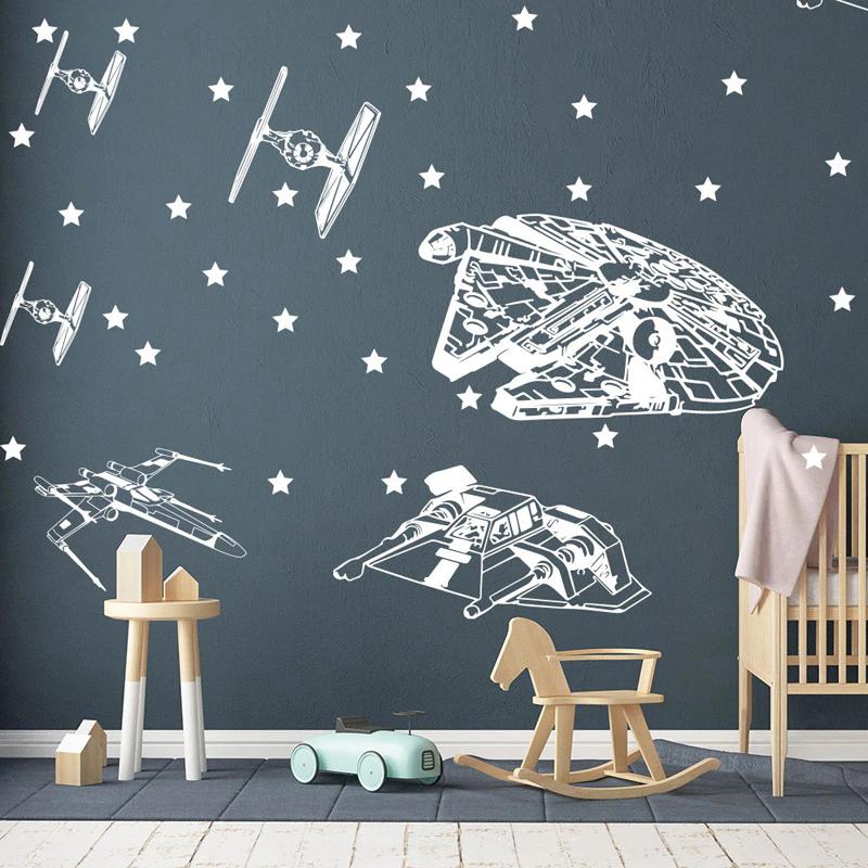 Smarter Shopping Better Living Aliexpress Com Star Wars Wall Decal Star Wars Wall Art Vinyl Wall Stickers