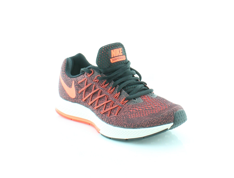 meilleur site web 2e74c db468 NIKE Air Zoom Pegasus 32 Womens Athletic Black/Hyper Orange ...