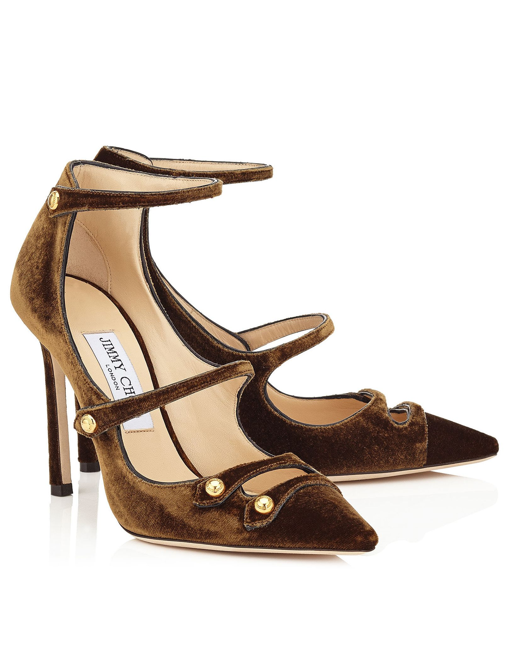 f69df9e78ef Jimmy Choo Lacey 100 Amber Velvet Pointy Toe Pumps. jimmy choo Black Patent  Leather ...