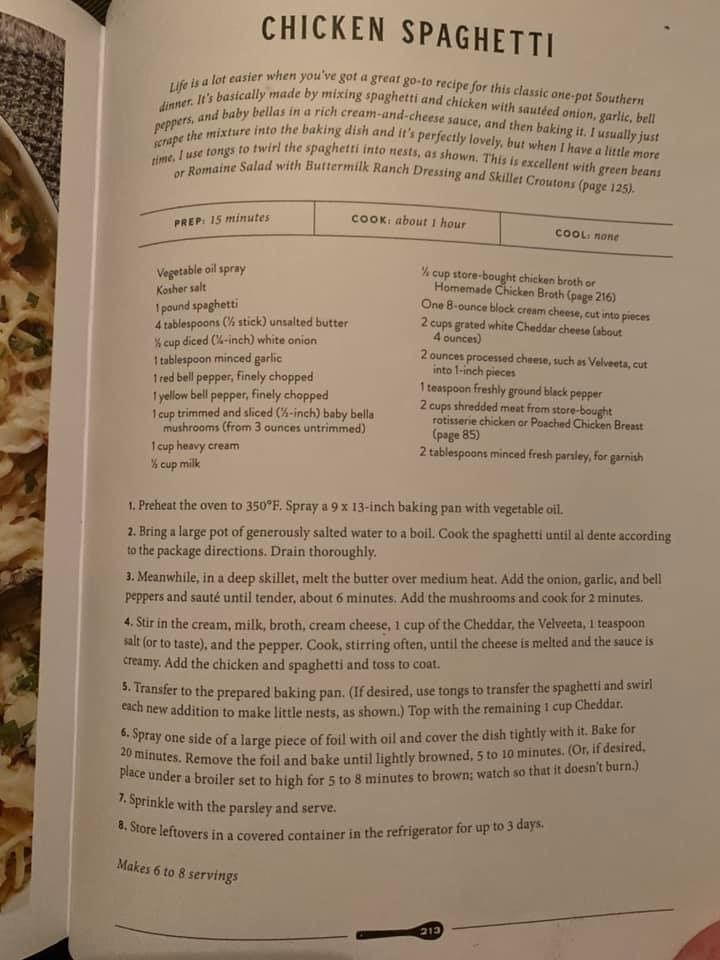 Joanna Gaines Chicken Spaghetti With Images Chicken