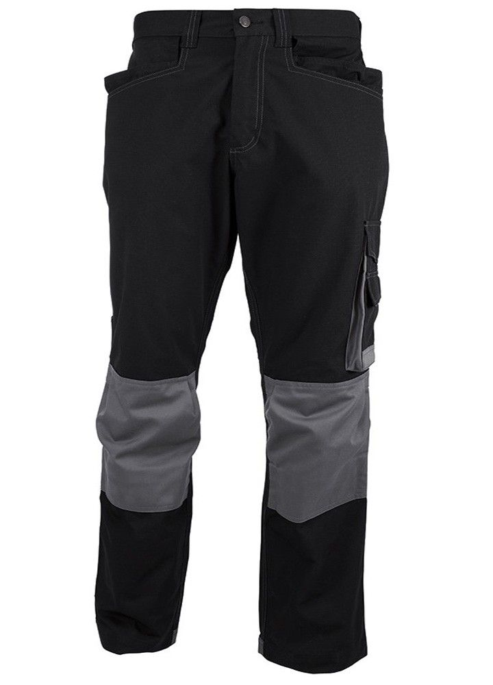 Tungsten Mens Holster Cargo Work Trousers Black Grey 44 To 54