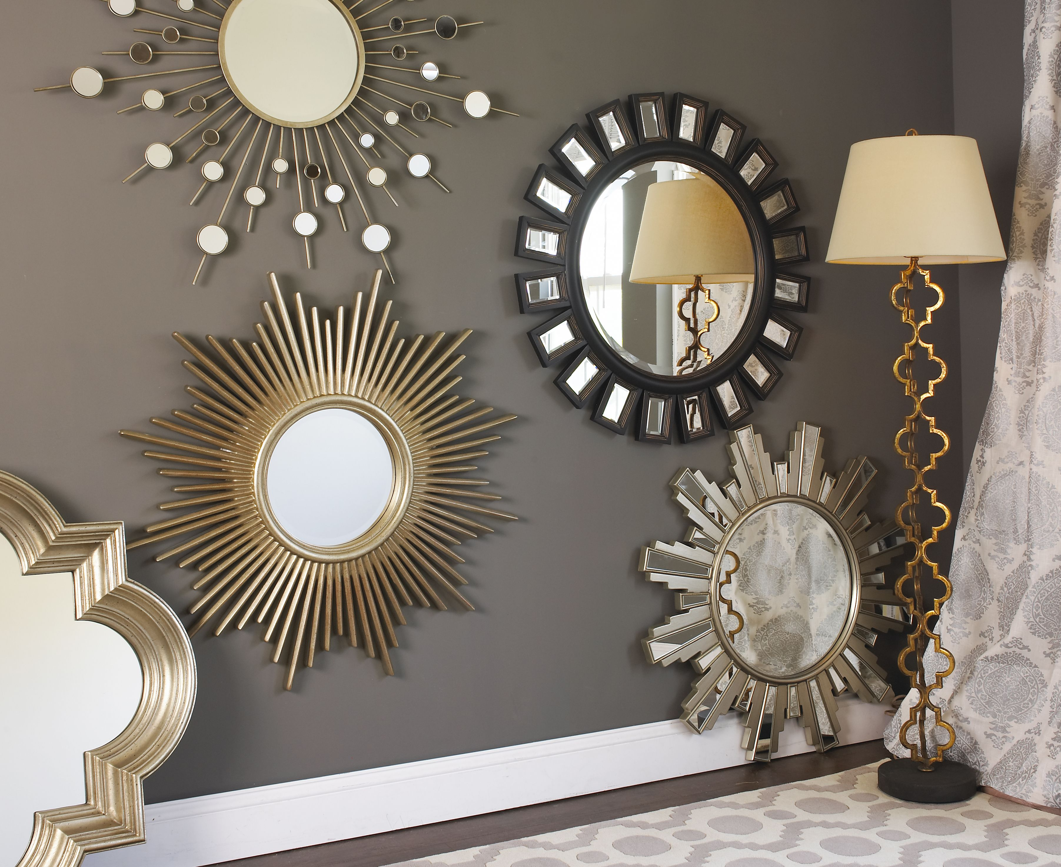 Selection Of Bathroom Light Fixtures: Shades Of Light Mirror Selection