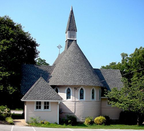 The Episcopal Chapel Of The Holy Comforter Built In 1888