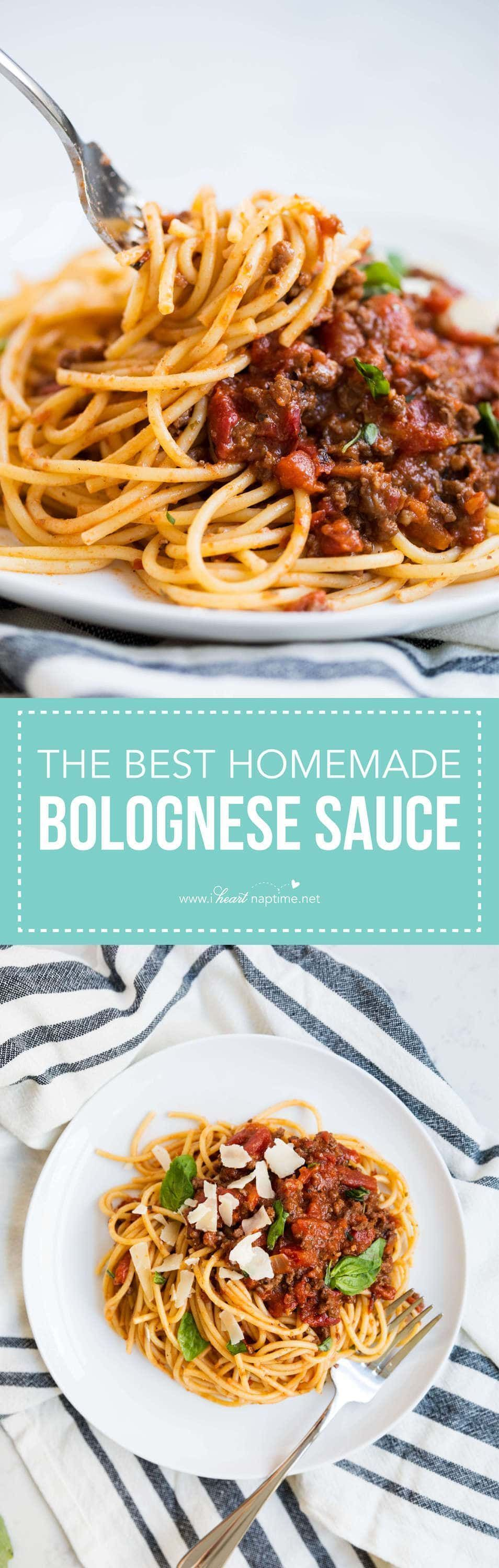 The BEST Homemade Bolognese Sauce #bolognesesauce Hands down the BEST homemade bolognese sauce ever! The flavors in this sauce are unreal and it will soon become your new go to sauce for pasta night! #bolognesesauce The BEST Homemade Bolognese Sauce #bolognesesauce Hands down the BEST homemade bolognese sauce ever! The flavors in this sauce are unreal and it will soon become your new go to sauce for pasta night! #bolognesesauce The BEST Homemade Bolognese Sauce #bolognesesauce Hands down the BES #bolognesesauce