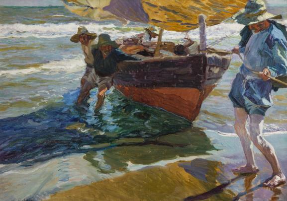 "Joaquín Sorolla, ""Le retour de pêche"", 1904, Musei di Nervi – Raccolte  Frugone Photo | © Armando Pastorino en 2020 | Les arts, Art  impressionniste, Peintre espagnol"
