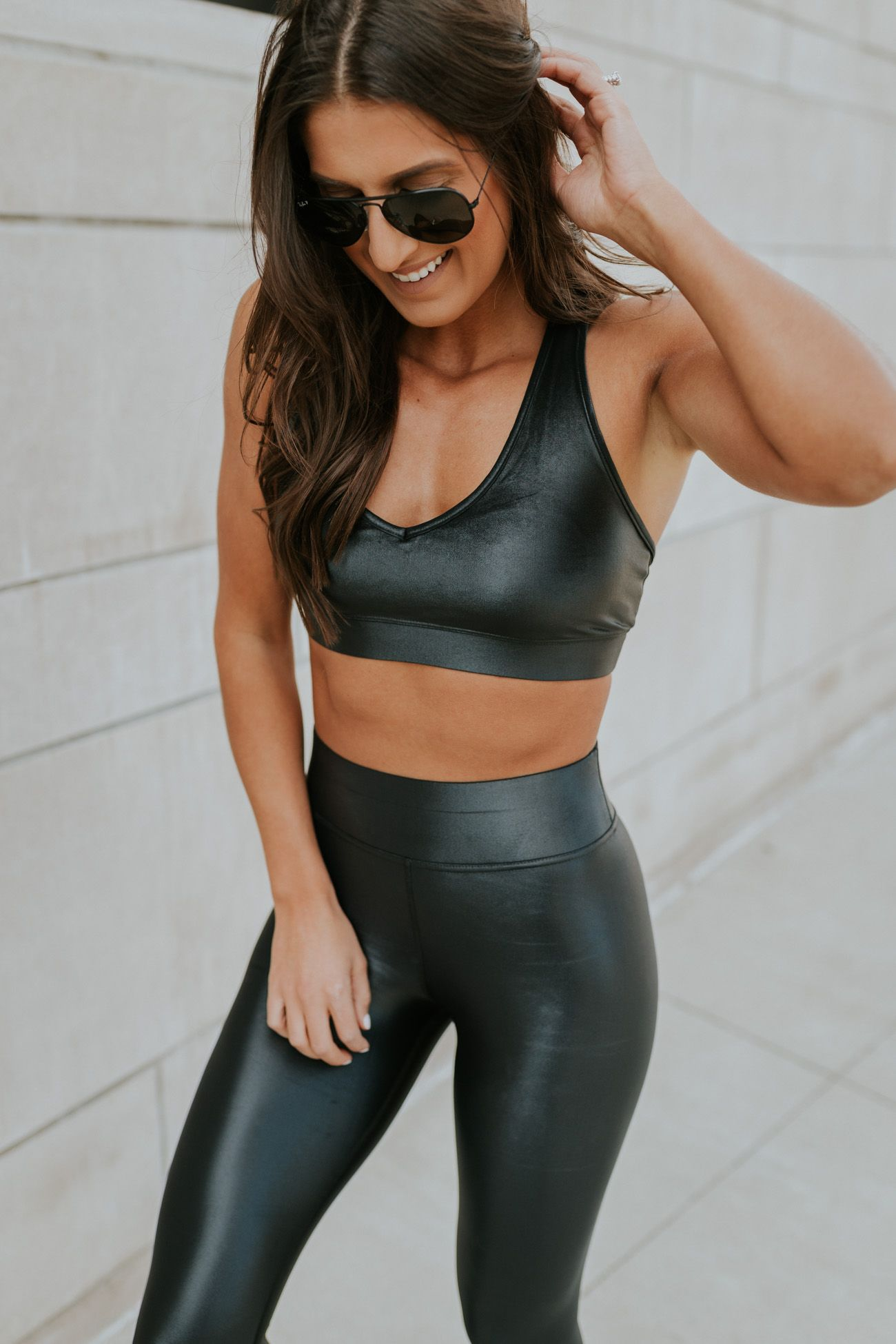 2018 shoes the best order Weekly Workout Routine: Takara Legging | Leather leggings ...