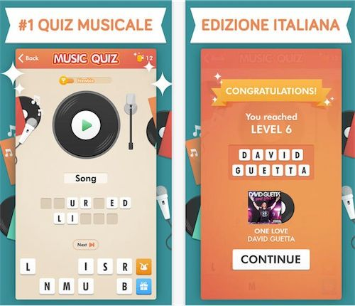 Music Quiz App Store | donk | Game app, Piano games, Game gui