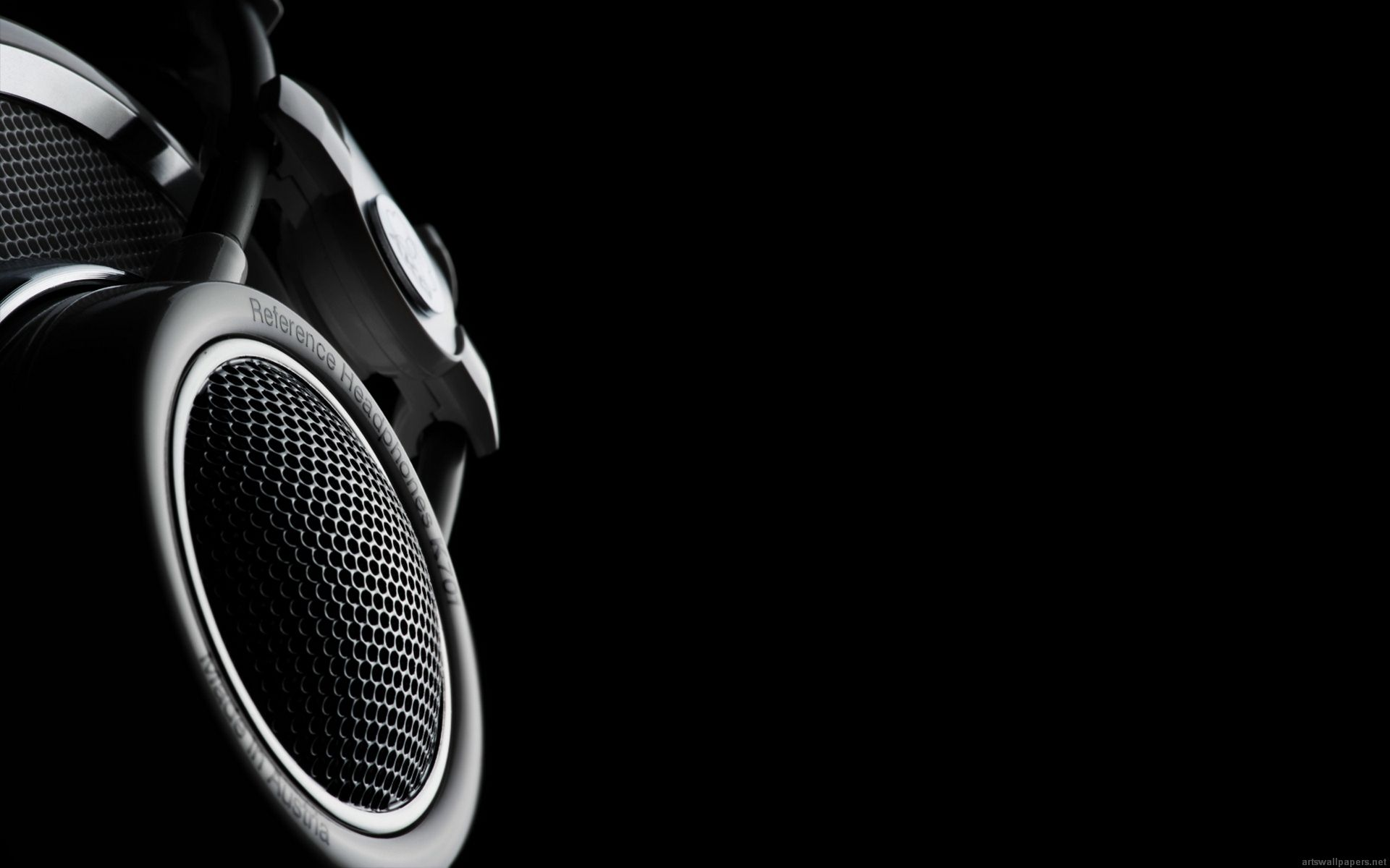 Black And White Headphone HD Wallpaper High Definition HD Wallpapers ... for Cool Dark Music Backgrounds  29jwn