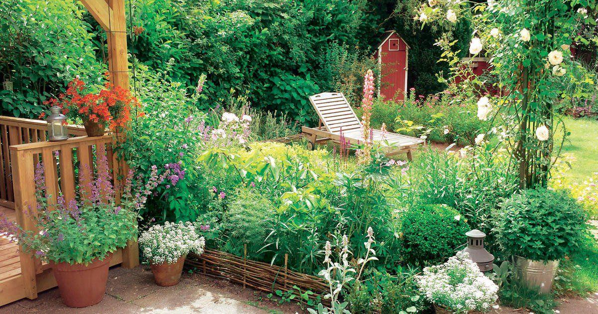 Ideen Fur Den Urlaub Im Eigenen Garten Mein Schoner Garten Plants Garden Beautiful