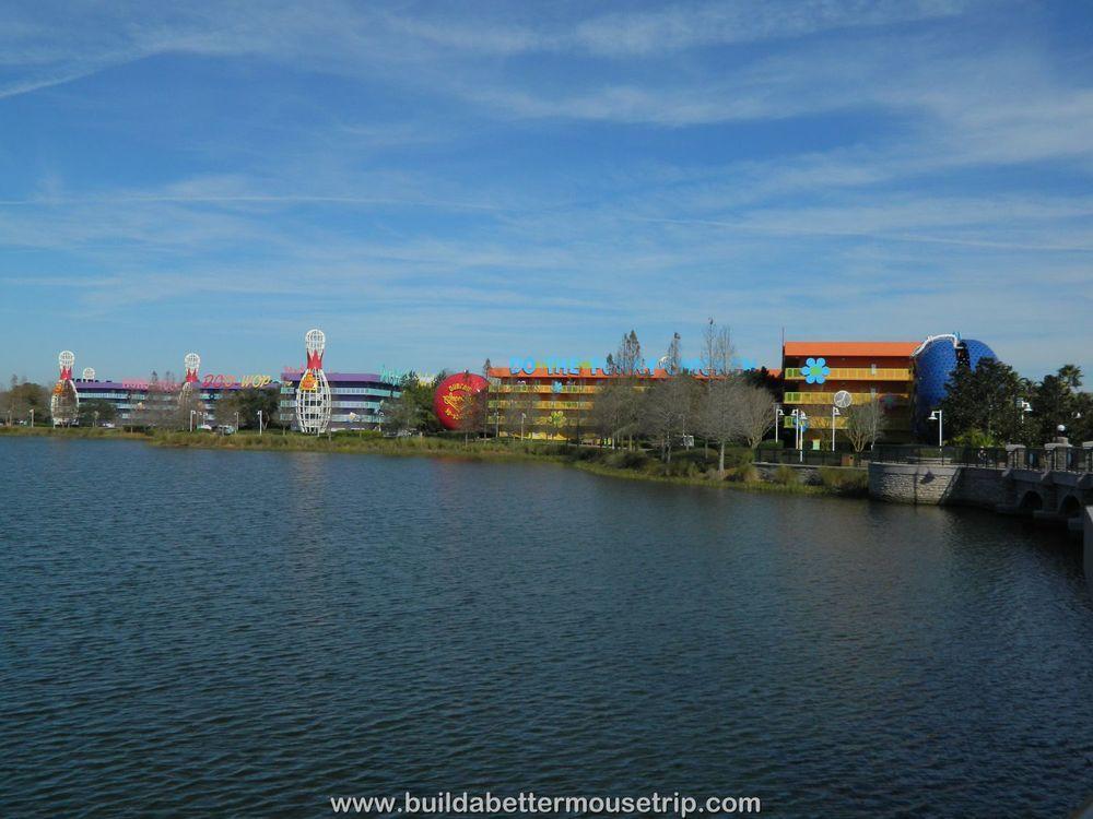 Disney\'s Pop Century Resort. For more resort photos, see: http://www ...