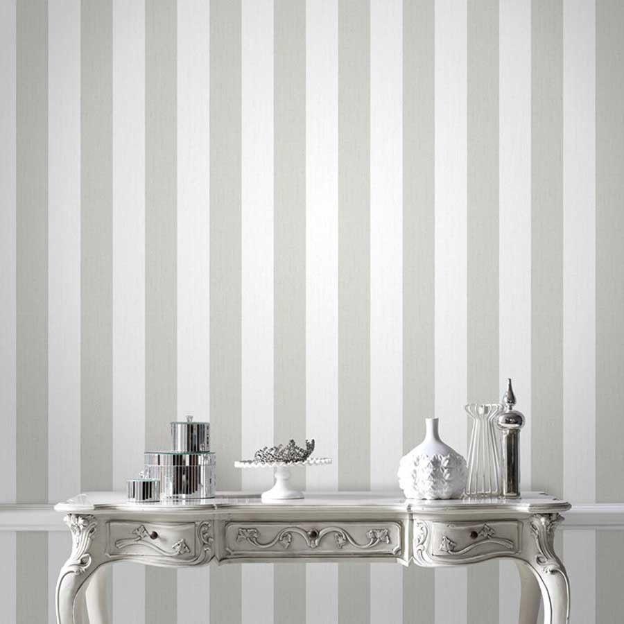 Glitter Stripe Stunning Designer Glitter Striped Wallpaper In White Silver White And Silver Wallpaper Stripe Wallpaper Bedroom White Glitter Wallpaper