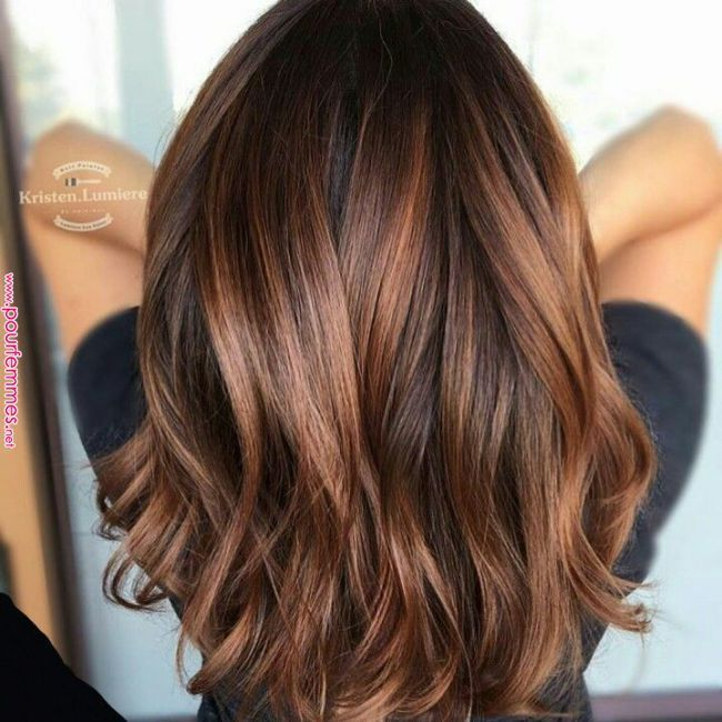 12 Frauen Nirvana Karamellfarbe Karamellfarbe Karamell Haarfarben Sehen Toll Aus Und Sind Sehr Beliebt Die Farbe In 2020 Kleur Haar Lang Haar Kapsels Trendy Haar