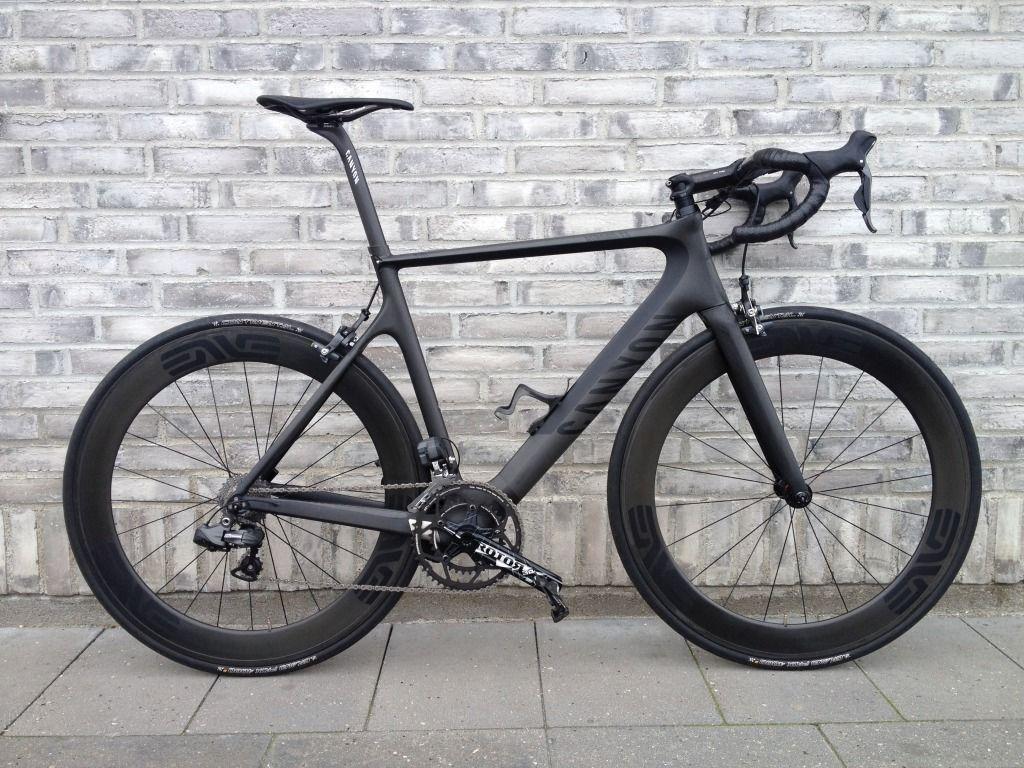 Canyon Aeroad Road Bike Full Carbon Black Vs Black Expression