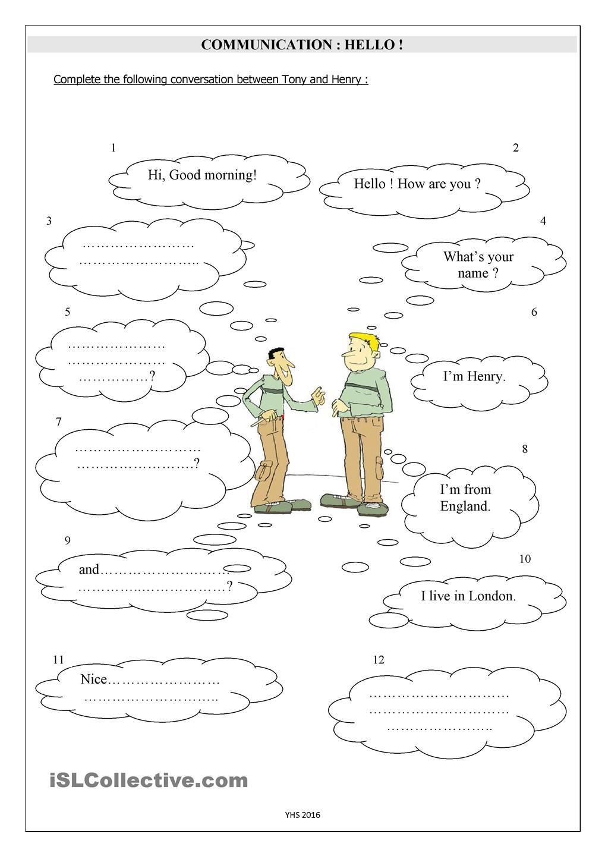 English worksheet: personal hygiene | my class | Pinterest ...