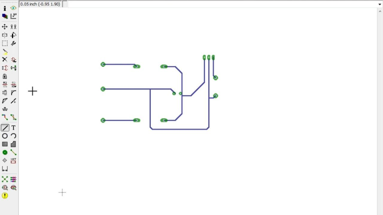Pcb Designing Of A Regulated Power Supply Using Eagle Electronics And Circuits Electronic Circuit Projects Pcbelectronicsconsumer