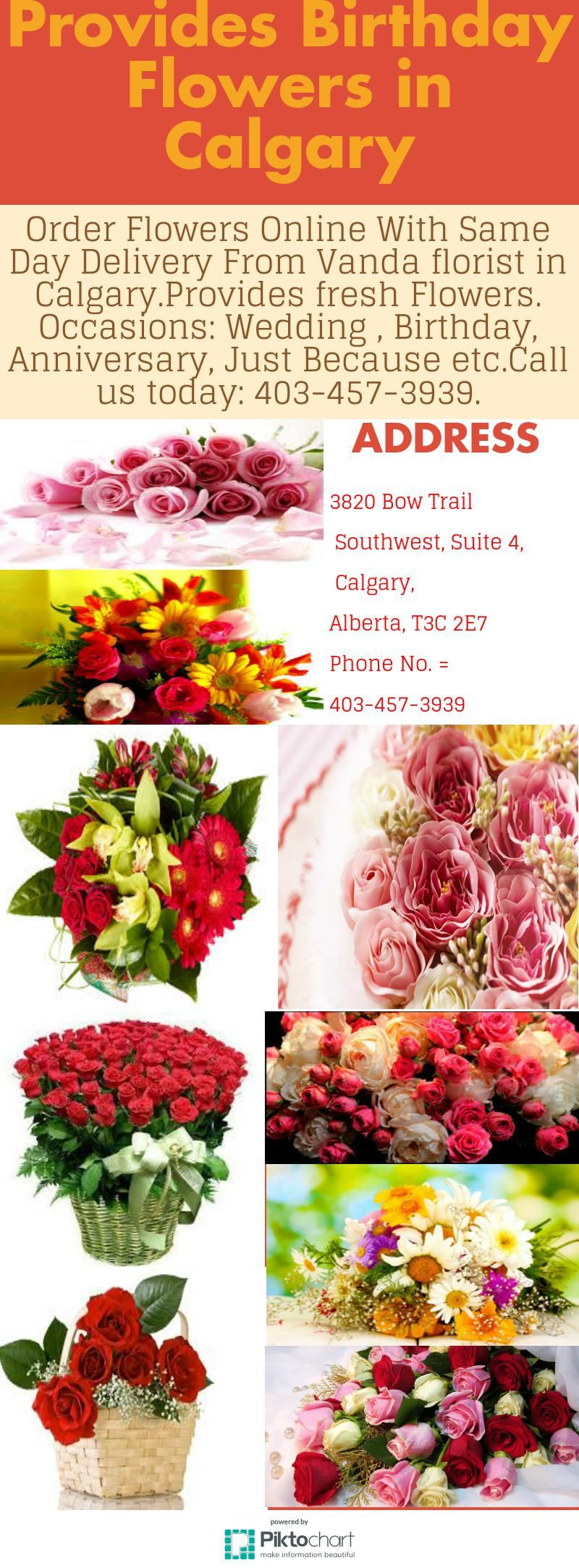 Order flowers online with same day flower delivery in calgary from flower order flowers online izmirmasajfo
