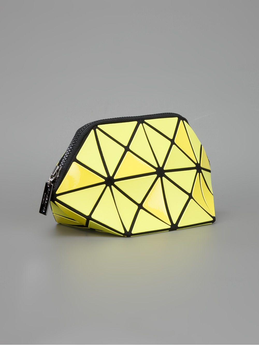 Bao Bao Issey Miyake Geometric Paneled Clutch - Bernardelli - Farfetch.com