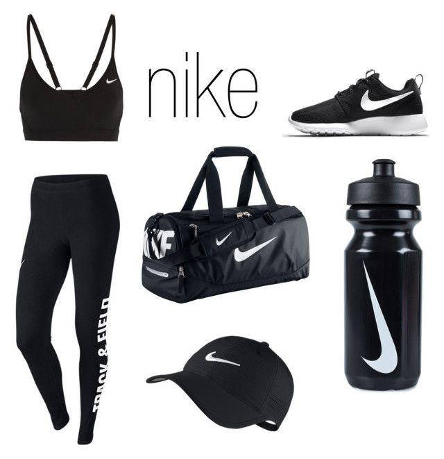 """""""NIKE ✔️"""" by flissington ❤ liked on Polyvore featuring NIKE"""