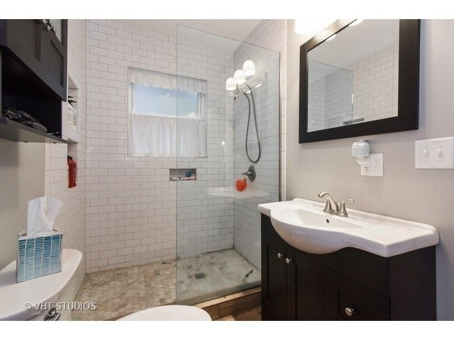 Partial Glass Shower Door Our New Home Pinterest Chicago