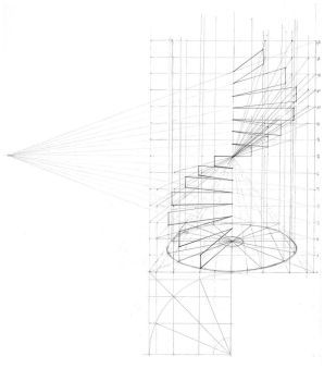 Spiral Staircase Perspective by Miss-Dutch on DeviantArt
