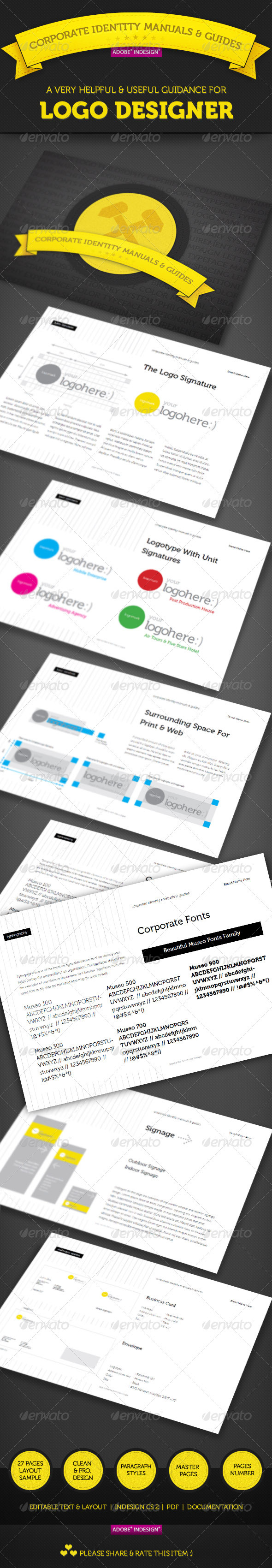 Pragmatic Corporate Identity Manual Guide