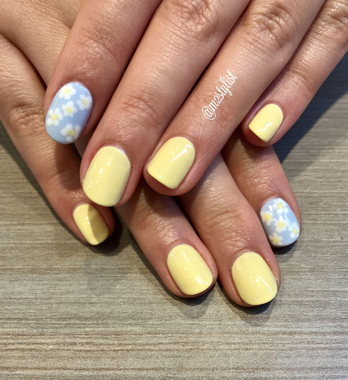 Daisy nail art daisy nail art daisy nails nails