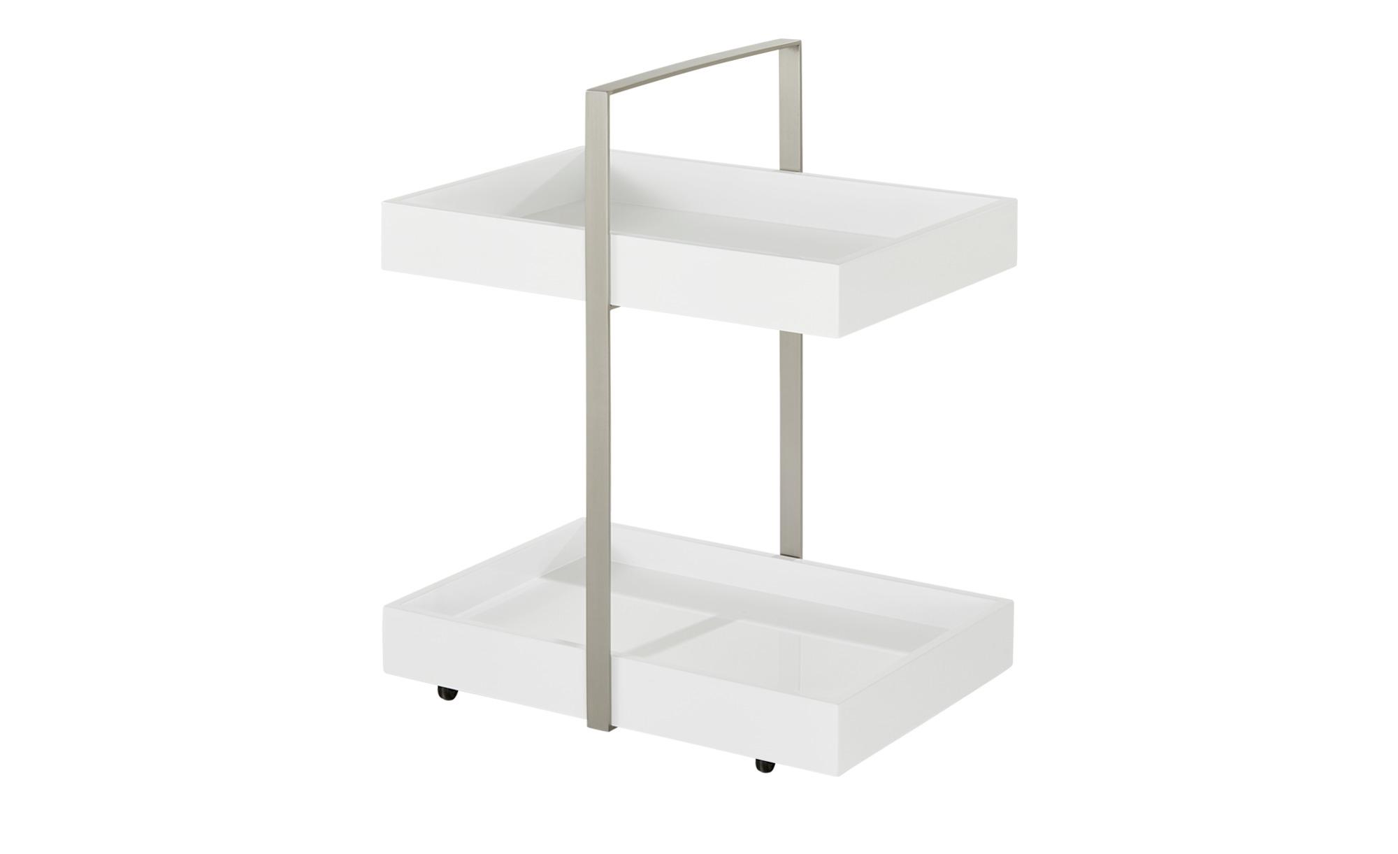 Beistelltisch Weiss 51 Cm 65 Cm 36 5 Cm Tische