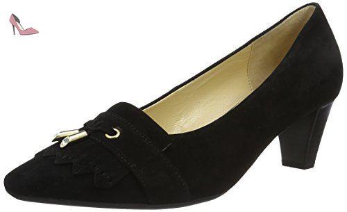 Gabor 142 Chaussures Shoes Eu Escarpins 55 FemmeNoir40 lK3J1TFc