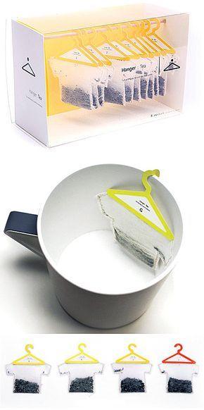 T-shirt als Teebeutel...ist eine interessante Idee.für Fussballfäns die Tee trinken zum Beispiel..
